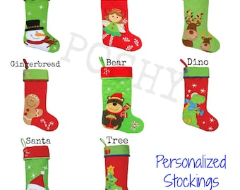 Personalized Stockings Kids Stephen Joseph Christmas Stockings