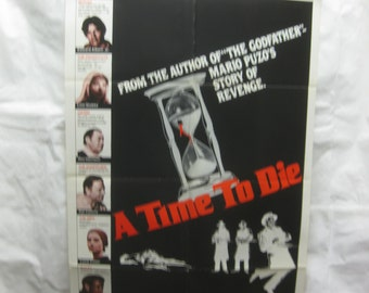 A Time To Die 1983 Movie Poster mp048