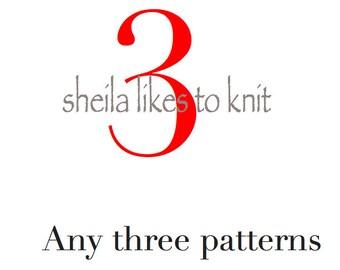 Any Three Patterns
