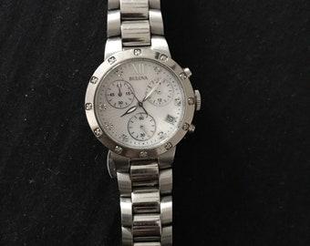 Bulova Women's Diamond Accent Chronograph Watch