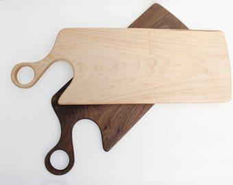 Artisan Black Walnut Cutting Board / Serving Board Model i