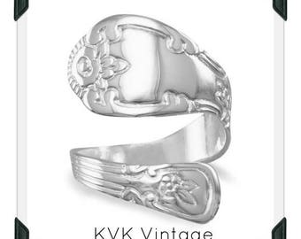 High Polish Spoon Ring  - Spoon Ring - Spoon Jewelry