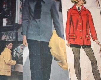 Chic Vogue Paris Original Jacket, Shirt, Pants and Shorts Pattern by Patou---Vogue 2575---Size 14  Bust 36