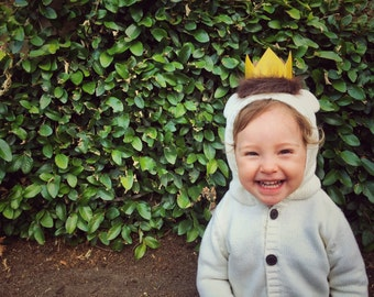 Where The Wild Things Are Party, Max Crown, Wild One, Wild Rumpus Party Supplies, First Birthday, Wild Things Costume, Crown Photo Prop