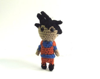 Anime Doll - Crochet Doll - Amigurumi Doll - Anime Character - Anime Warrior - Anime Plushie - Plushie Doll - Crochet Plushie