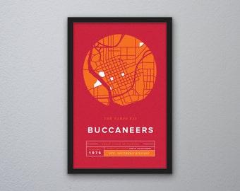 Tampa Bay Buccaneers Print