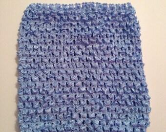 "CLEARANCE SALE- Bluebird 6"" Crochet Tube Top for Tutu Dresses"