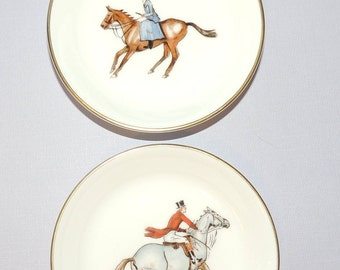 Royal Worcester HORSE Motif Small Bowls