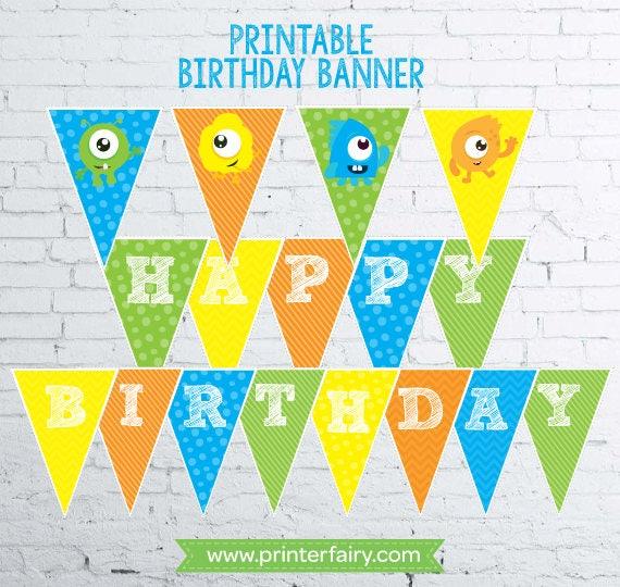 Monster Birthday Decorations Little Monster 1st Birthday