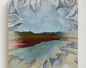 """The Wind, 8""""x8"""" giclee print"""