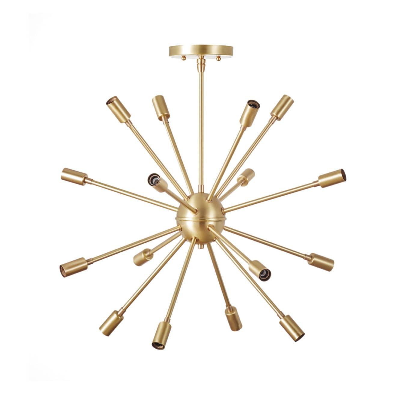 Sputnik Chandelier No 1 The Classic Zoom Audiocablefo Light Database