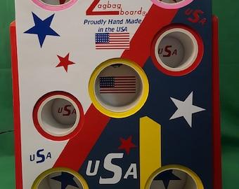 USA July 4th Zagbag Board (ON SALE!!)
