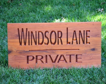 Outdoor Yard Address Sign Custom Carved Wood Sign Solid Hardwood Outdoor Sign Personalized Wood Sign, Custom Wood Sign Carved Wood Sign