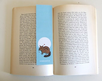 Chipmunk - Squirrel - Bookmark - Animal Collection