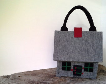 Felt Bag House - Unique