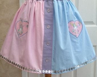 Two Tone Unicorn Skirt