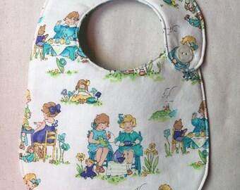 Tea Party Infant Bib