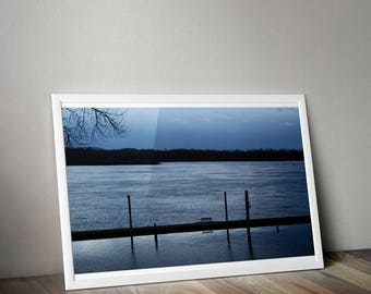 Come sit by the river print. Instant download