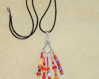 Boho necklaces, Beaded Necklaces, necklaces, Pendant, Hippie, Chic