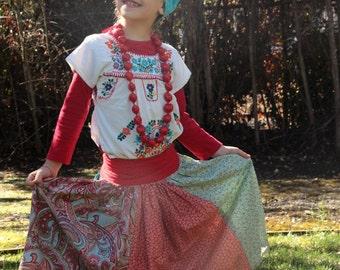 Maxi Long Girl Skirt