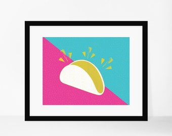 8x10 Print- Taco Kitchen Print **Digital Download**
