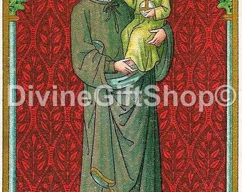 """Icon St Stanislaus 5"""" X 7"""" Print. Gorgeous Image of The Polish Saint."""