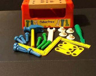 Fisher Price Woodtop Workbench #927