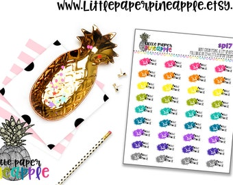 Panic Attack Spoonie Planner Stickers | Repositionable Matte Stickers | SP17