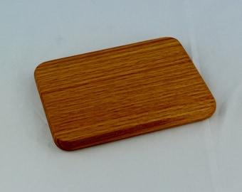 Mini Cutting Board, Small Cutting Board, Camping & Picnicking Cutting Board in Oak, Thank You Gift