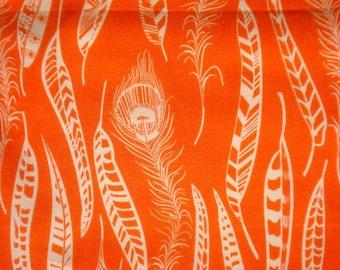 Anna Maria Horner Field Study Fine Feathered pomegranate Free Spirit fabric XL long quarter yard