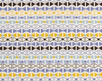 Power Pop Pinkerton Cornflower Fabric by Jenean Morrison for Free Spirit by the yard