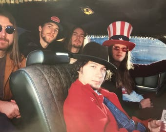 Wall Art, 1990s Music Poster, Blind Melon, Band Shot, 1993 Poster 22 1/4 x 34 1/2