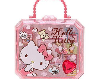 Hello Kitty Stamp Set suitcase or Little Twin Star Stamp set Suitcase-MINI Size