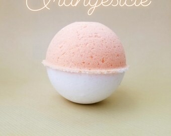 Orange Creamsicle Bath Bomb
