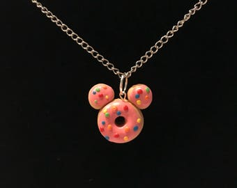 Donut Worry Necklace