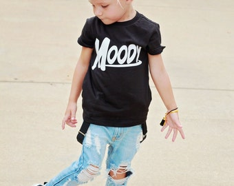 Honey Bee Skinnies- distressed denim- unisex- baby- toddler
