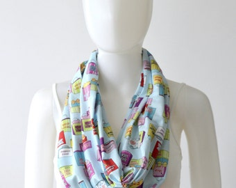 Shop Local Infinity Scarf (2 sizes - child or adult) #Shoplocal , shop small, small business owner, wahm gift, entrepreneur, support local