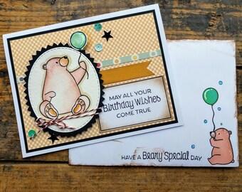 Beary Happy Birthday Card