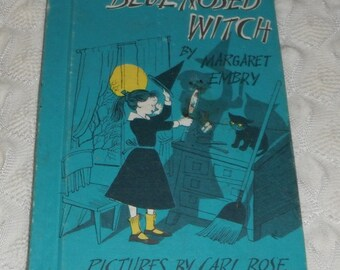 The Blue Nosed Witch by Margaret Embry Vintage Weekly Reader Book
