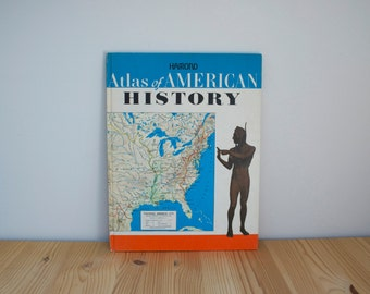 S A L E Vintage Atlas of American History 1968