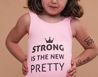 Pink swimsuit for girls,Girls One piece bathing suit,Kids swimwear,Girls swimsuit,Little Feminist,Girls pink bathing suit,Frida pink