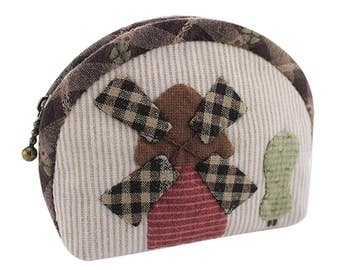 Girl Sewing Kit Sewing Craft Precut Sewing Project Purse Making Kit