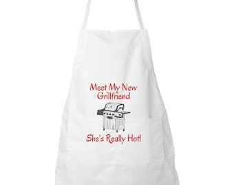 Aprons for her /Apron For FirstTime Grillers