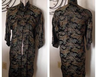 Beautiful Vintage Asian Tunic/Coat