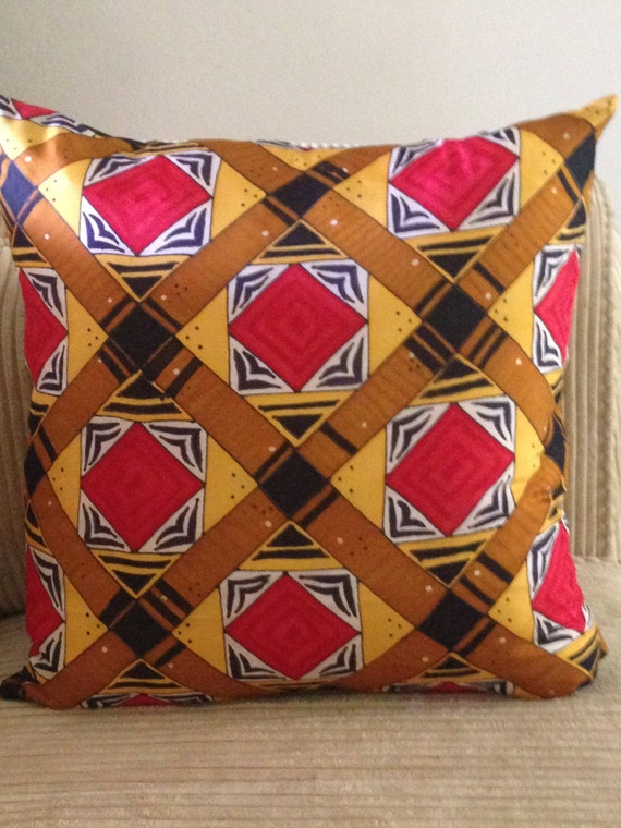 ALWAYS AMAZED -Hand Painted Silk Decorative Pillow - Made to Order