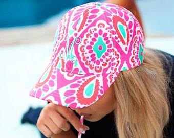 Monogrammed Adult Hat, Personalized Adult Hat, Monogrammed Hat