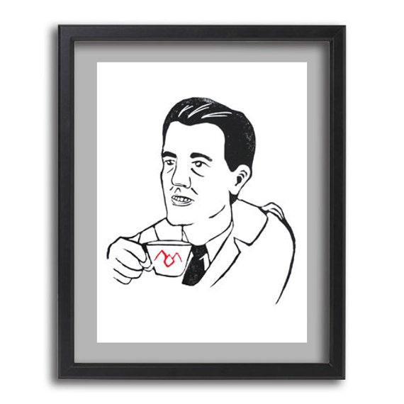 Agent Dale Cooper - Instant Digital Download