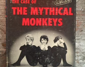 1959 The Case of the Mythical Monkeys by Erle Stanley Gardner Book