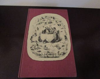 Dumas On Food By Alexandre Dumas/ Folio Society 1978 Hardback Illustrated Edition / 19th Century French Cuisine Cooking