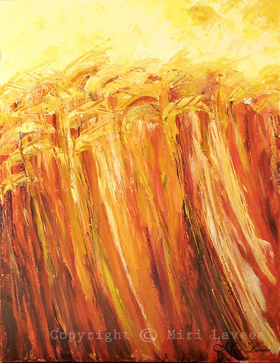 Natur Wand Kunst Malerei Acryl Natur-Malerei